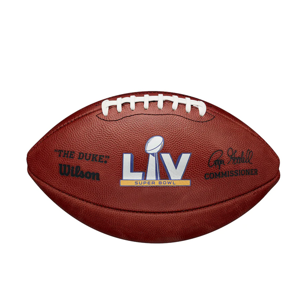 Authentic Super Bowl LV Wilson Official Game Football