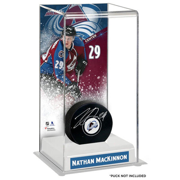 Nathan Mackinnon Colorado Avalanche Deluxe Hockey Display Case