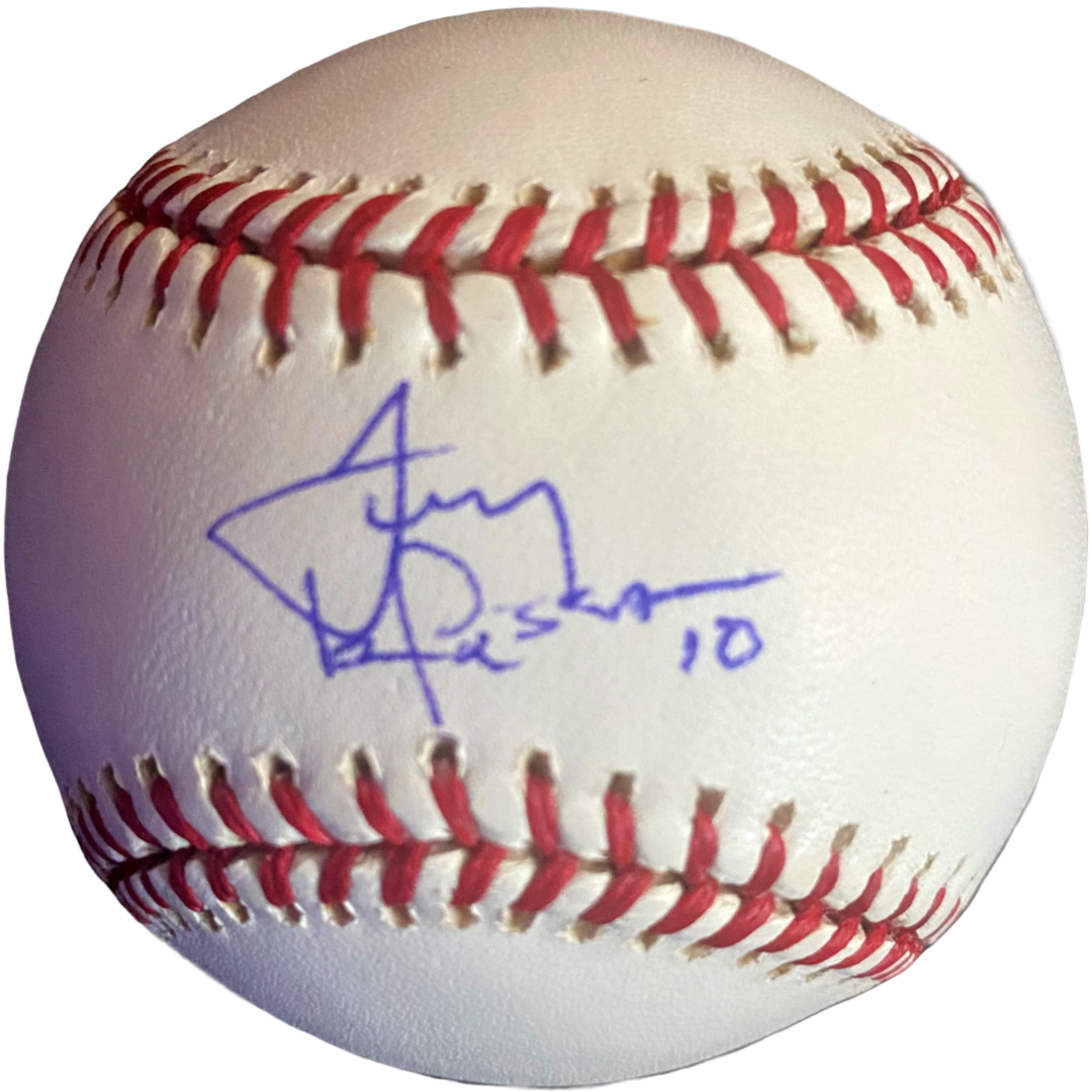 Tony LaRussa Signed Baseball - Latitude Sports Marketing