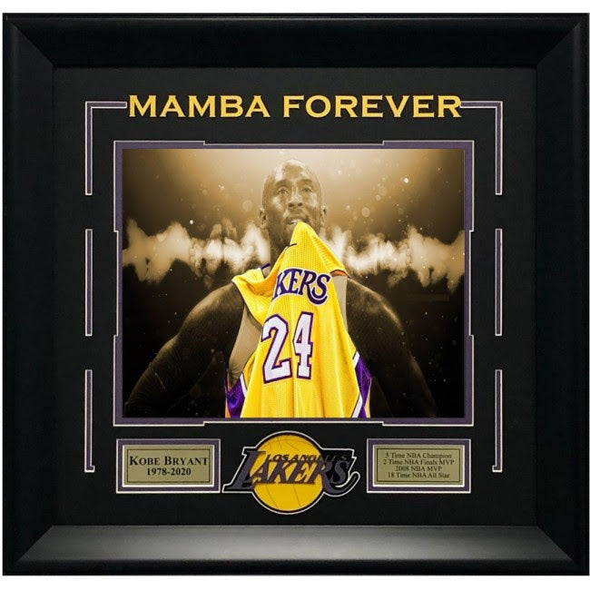 "Kobe Bryant 11"" X 14"" Sepia Spotlight - Latitude Sports Marketing"