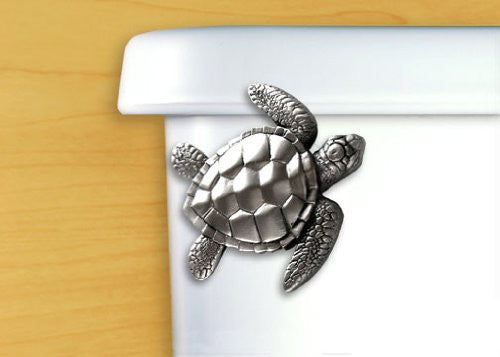 Toilet Flush Handle-Sea Turtle