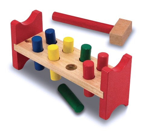 Wooden Pound-A-Peg