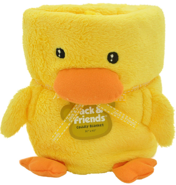Cuddly Animal Blanket-Duck