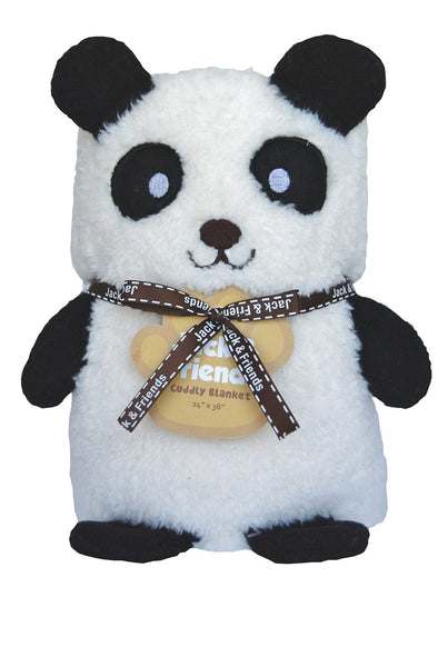 Cuddly Plush Blanket-Panda