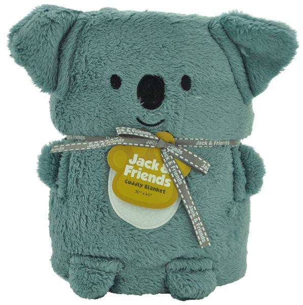 Cuddly Animal Blanket-Koala