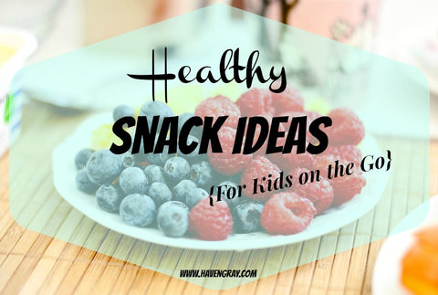 Healthy Snack Ideas for Kids on the Go | Haven Gray Kids