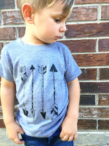 Toddler Boys Short Sleeve Arrows T-Shirt