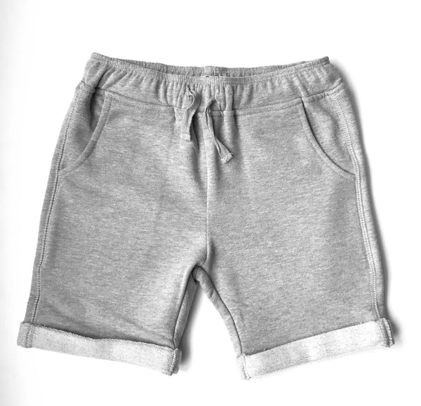 Gray French Terry Sweatshorts