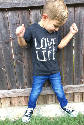 Love Life Toddler Boys T-Shirt