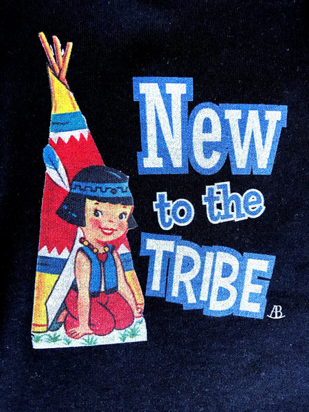 """New To The Tribe"" Onesie"