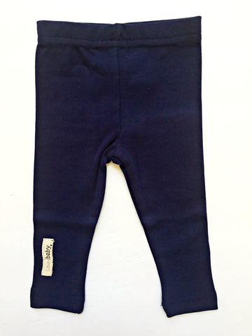Navy Baby Leggings