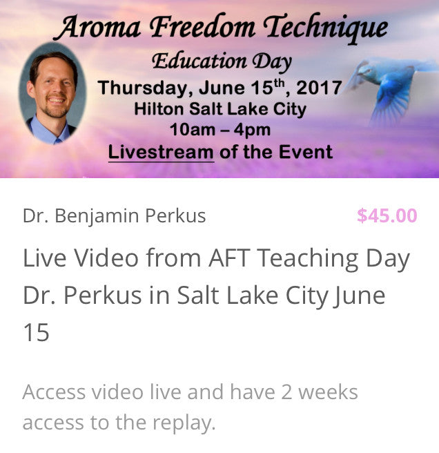 About Dr. Perkus and The Aroma Freedom Technique