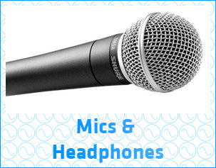 Microphones & Headphones