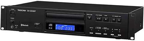 TASCAM CD-200BT SINGLE CD PLAYER W/BLUETOOTH