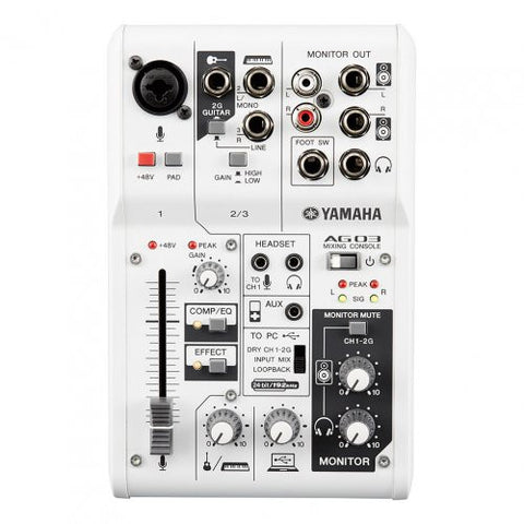 AG03 3-channel mixer/USB audio interface