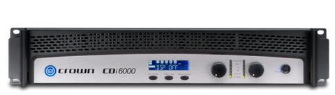 Crown CDi 6000 Power Amplifier