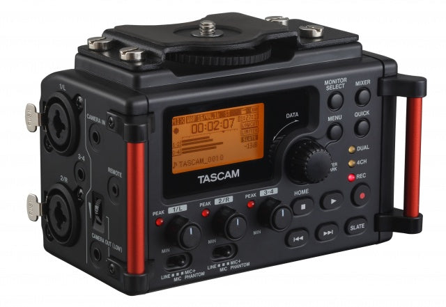 Tascam DR-60DMKII PORTABLE RECORDER FOR DSLR