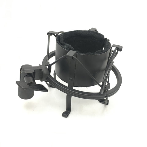 Generic Microphone Shockmount for Large Diaphragm Mic Black