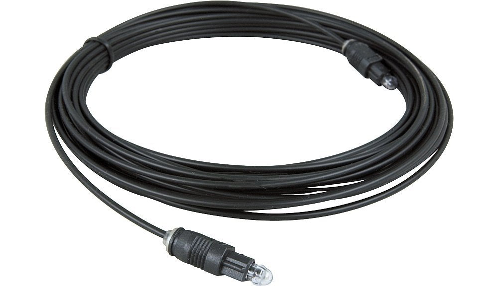 Hosa OPT-130 Standard ADAT Toslink Male to Toslink Male Fiber Optic Cable - 30'