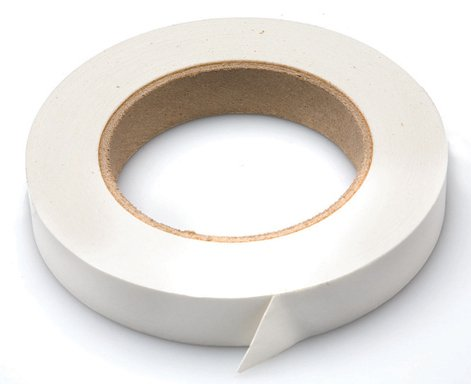 Hosa LBL-505 White Scribble Strip Console Tape, 0.75 inch x 60 yards