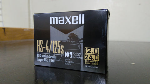 Maxell HS-4/125s Tape