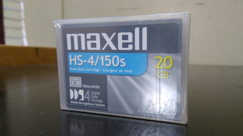 Maxell HS-4/150s 4mm Data Cartridge 20 GB