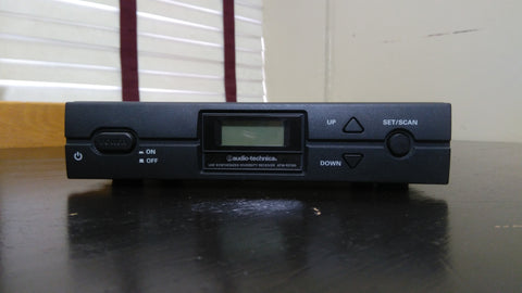 Audio-Technica UHF Synthesized Diversity Receiver ATW-R2100 &  ATW-T210