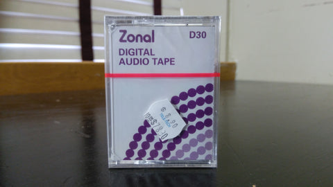 Zonal Digital Audio Tape D30