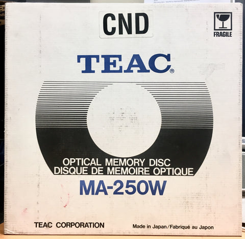 Teac Optical Laserdisc Memory Disc MA-250W