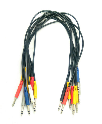 Hosa Bantam/ TT patch cables 1ft - Pre-Owned