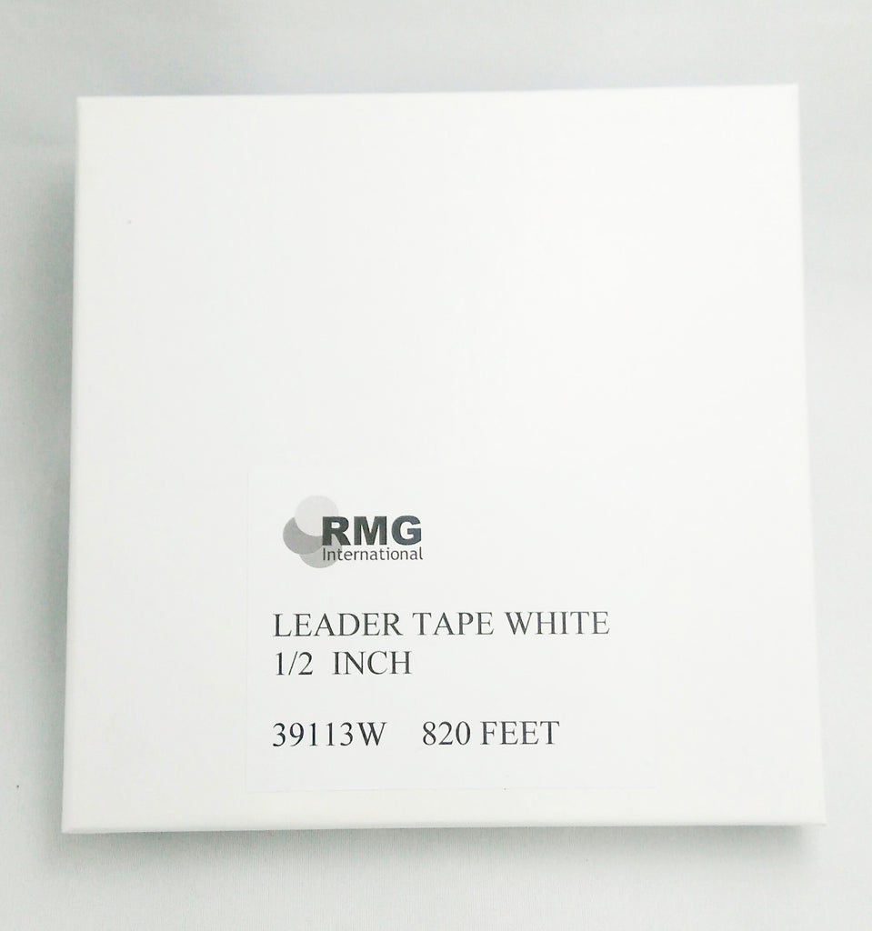 "RMG Leader Tape White 1/2"" x 820 ft"