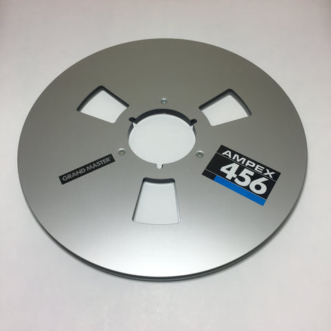 "Ampex Grand Master 456 12.5"" Metal Reel 1/2"" or 1/4"" (or Assorted Brand Name Reels)"