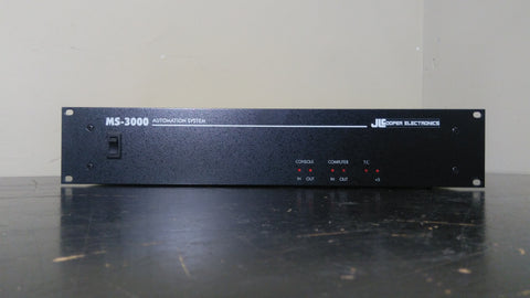 JL Cooper MS-3000 automation system