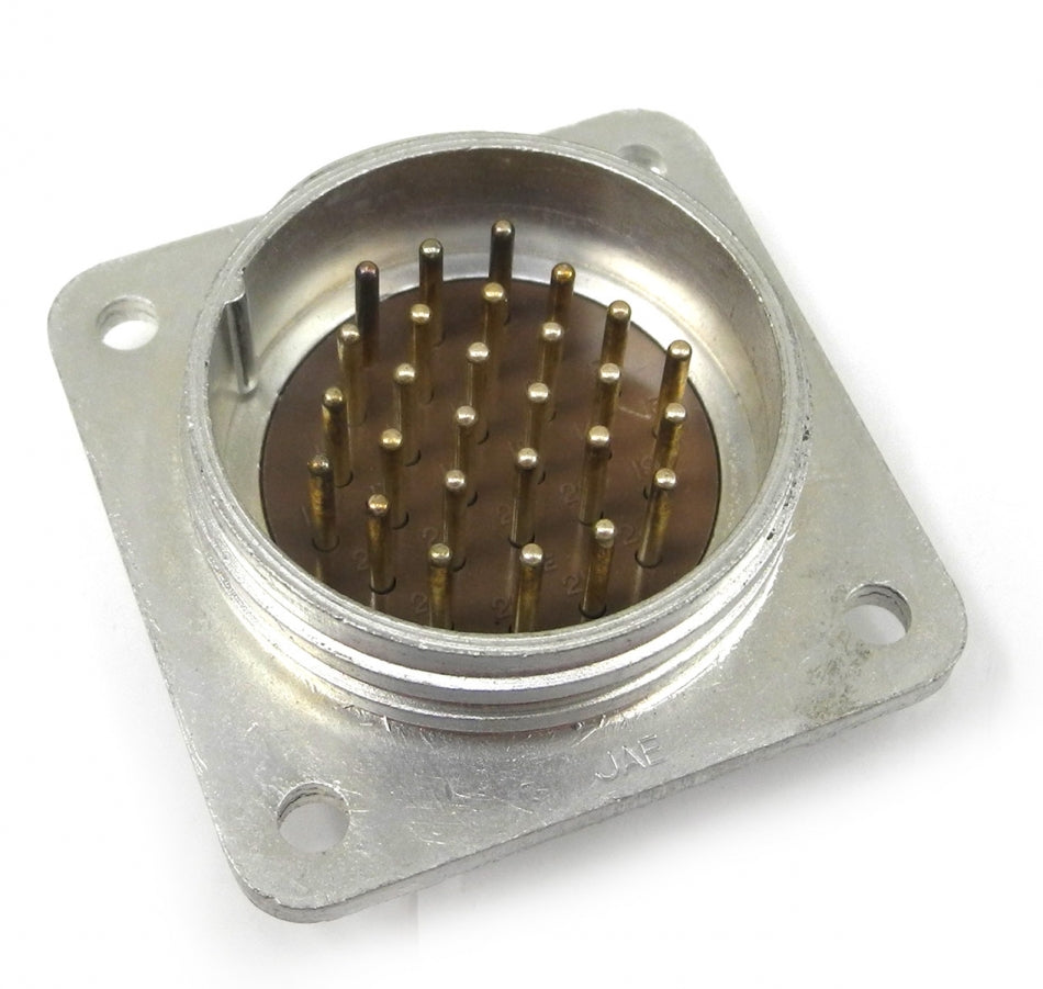 JAE NK-27-32S Male 27-Pin Circular Panel Mount Connector