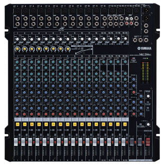MG206C 20-Channel 6-Bus Rack-mountable Mixer