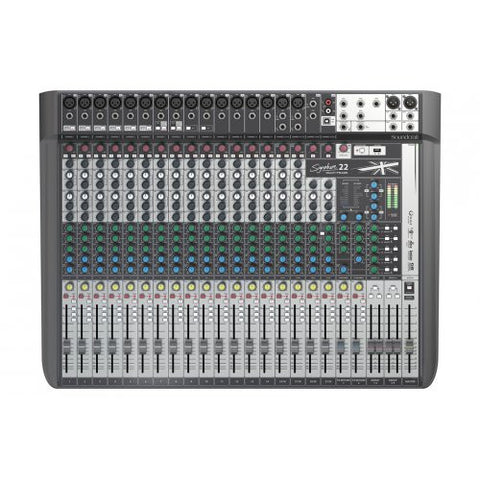 Soundcraft Signature 22MTK Mixer with USB