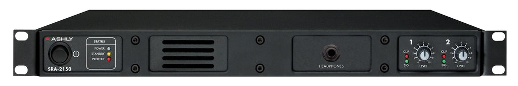 Ashly SRA-2150 2-Channel 150W @ 4 Ohm Amplifier