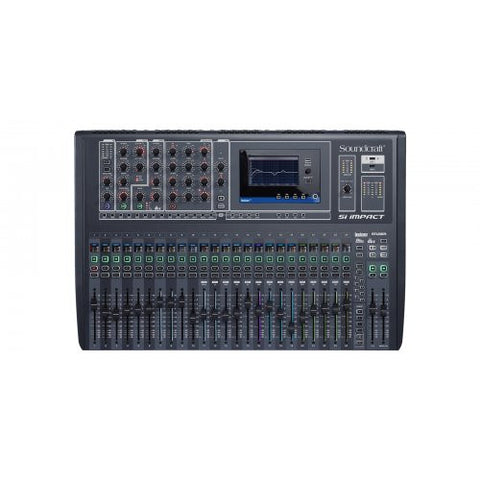Soundcraft Si Impact 40-input Digital Mixing Console with USB Interface and iPad Control
