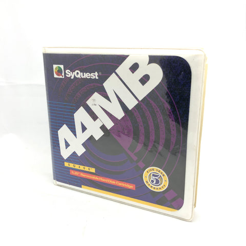 Syquest SQ400 Cartridge 44mb 5.25 removable hard disk cartridge