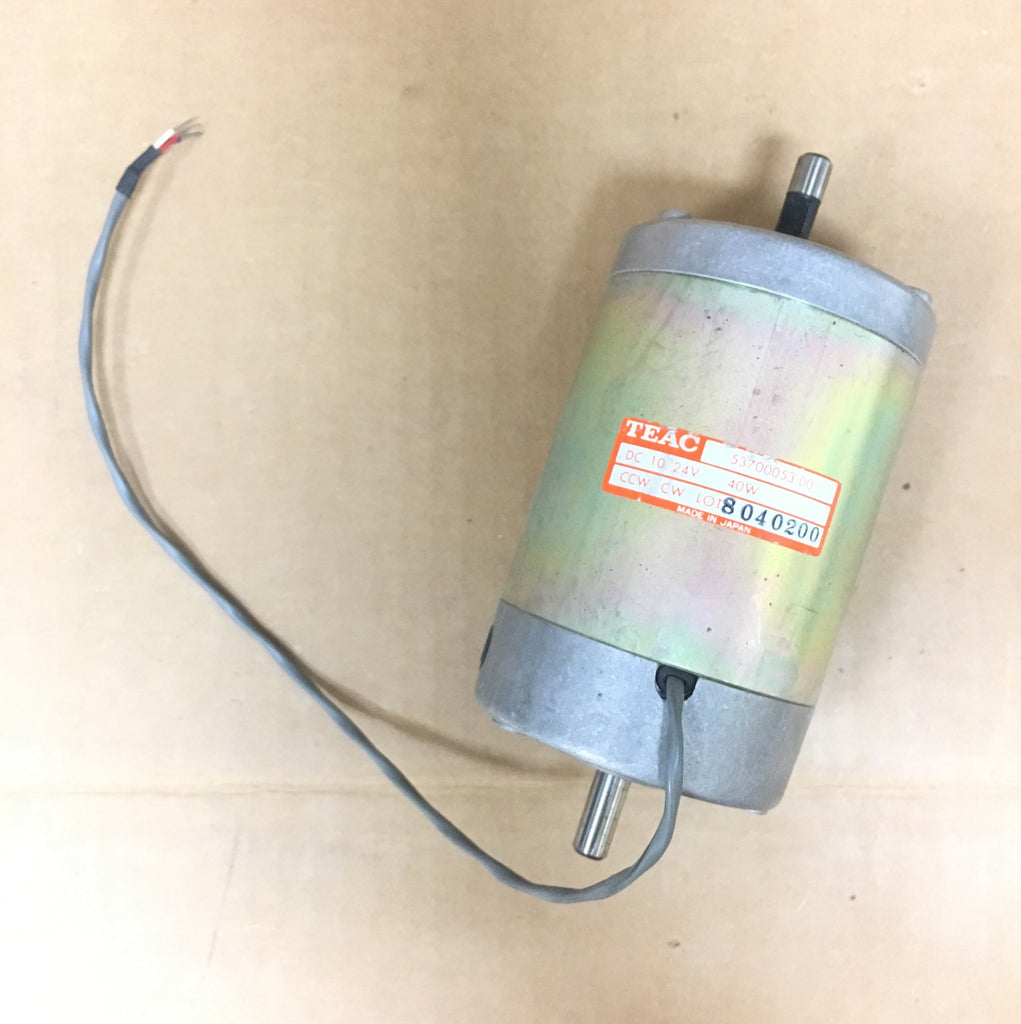 Teac 53700053-00 DC 10/24V 40 W Take up reel motor
