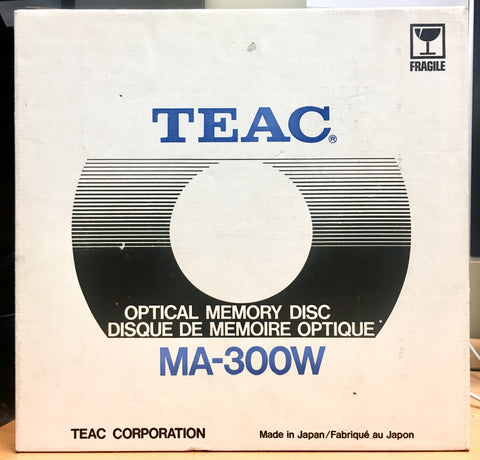 Teac Optical Laserdisc Memory Disc MA-300W
