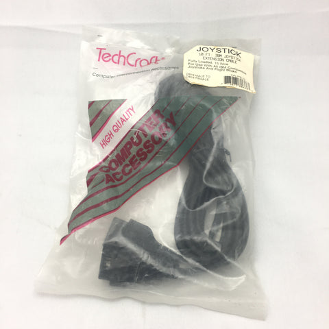 Techcraft IBM Joystick extension cable 10ft DB15 Male to DB15 Female