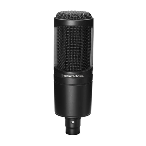 Audio Technica AT2020 Cardioid Condenser Microphone - Teletechproaudio
