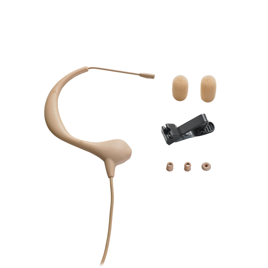 Audio Technica BP893c-TH MicroEarset Omnidirectional Condenser Headworn Microphone - Teletechproaudio