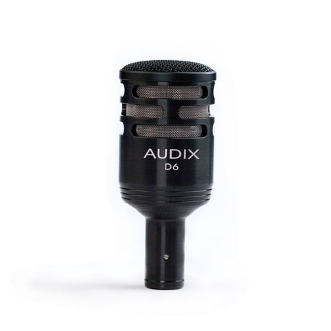 Audix D6 Dynamic Instrument Microphone - Teletechproaudio