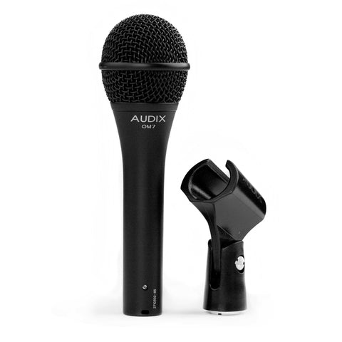 Audix OM7 Dynamic Vocal, Microphone - Teletechproaudio