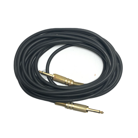 "1/4"" TS Male to TS Male Gelcon Noiseless Cable - 20FT"