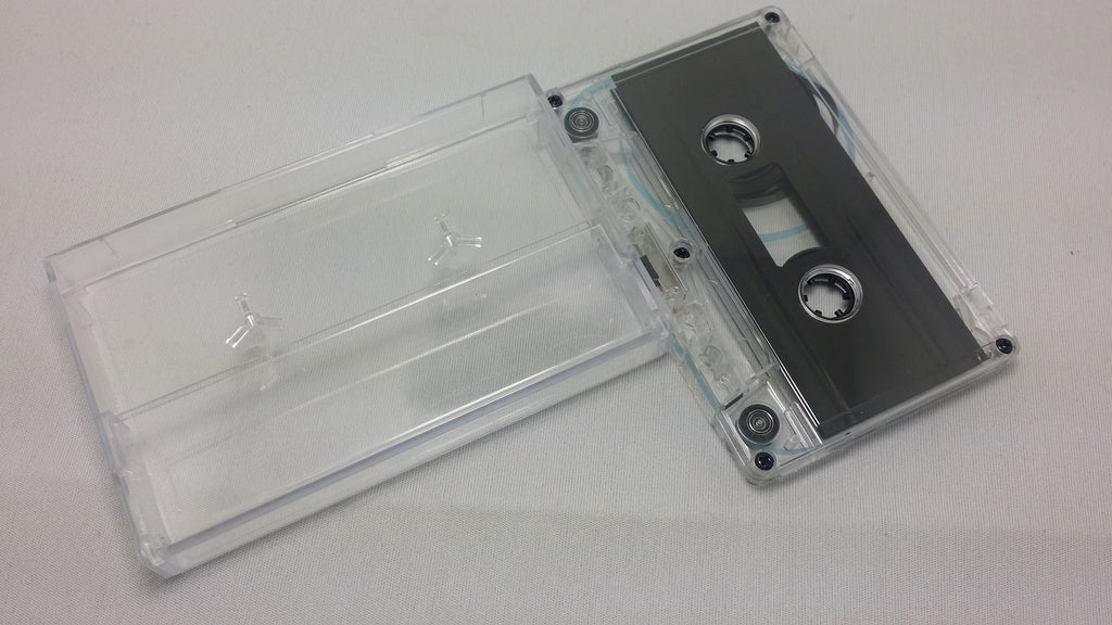 Blank 10 min High Bias Chrome Cassette with Case - C-10