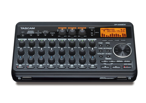 Tascam DP-008EX Digital 8-Track Recorder