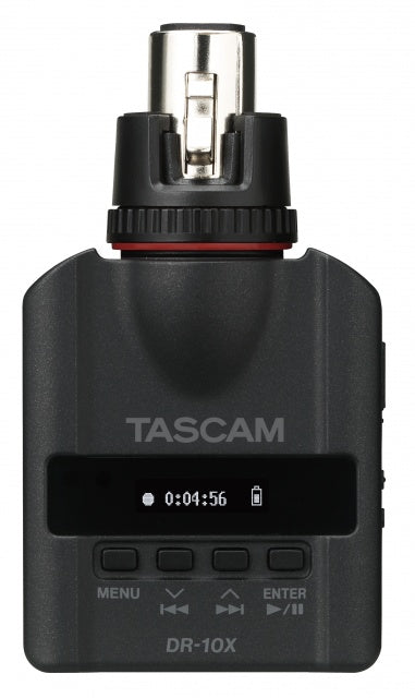 Tascam DR-10X Portable Stereo Recorder for ENG Microphones